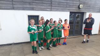 U13 Greens warm up for new season with tournament win