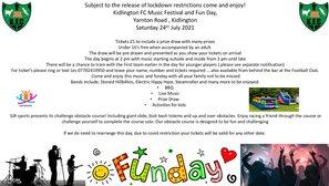 Kidlington FC Music Festival and Fun Day