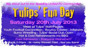 SUFC Community Fun Day - Sir Halley Stewart Field
