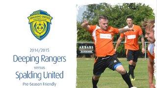 2014/15 : Deeping Rangers v SUFC (260714)