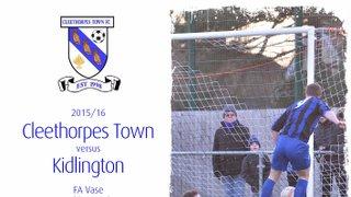 2015/16 : Cleethorpes Town v Kidlington (30.01.16)
