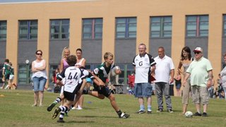 DERBY CITY U14S DERBYSHIRE CHARGERS FESTIVAL (14-07-13) DERBY CITY 16 V 8 SIDNEY SUSSEX SHARKS