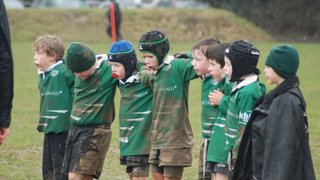 Against the elements all teams showed determination