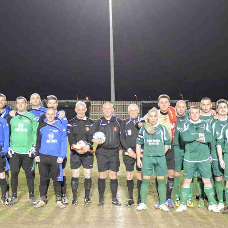 NOTTS FIRST INTO FINAL