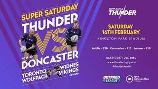 Super Saturday: Newcastle vs Doncaster & Toronto vs Widnes