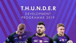 Thunder Development Programme 2019 - Coaches - Position Specific Skills with Thunder 1st Team
