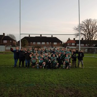 Swanley 1XV vs Shooters Hill 1XV 14.12.2019