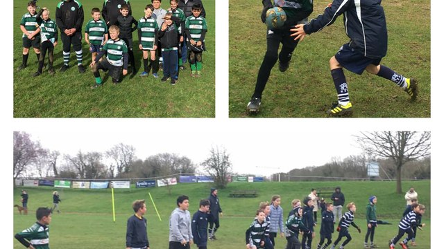 Swanley RFC, Westcombe Park RFC, Sevenoaks RFC - Joint Youth Training Session 23.02.2020