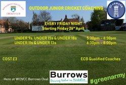 Outdoor Junior Coaching