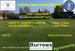Outdoor Junior Coaching