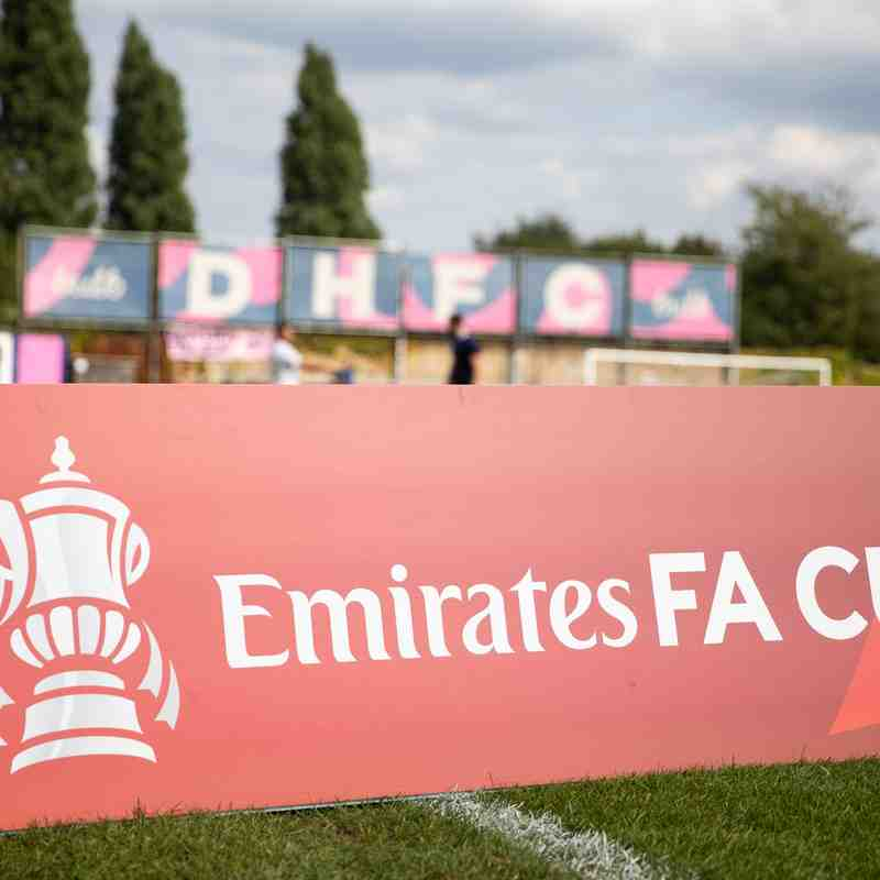18/09/21 FA Cup, DHFC vs Bedfont Sports