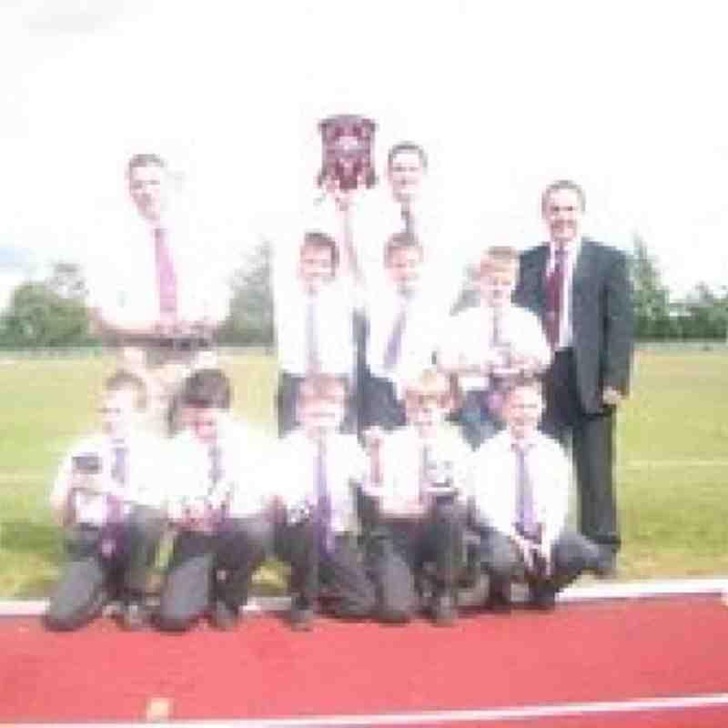 league winners  u11s