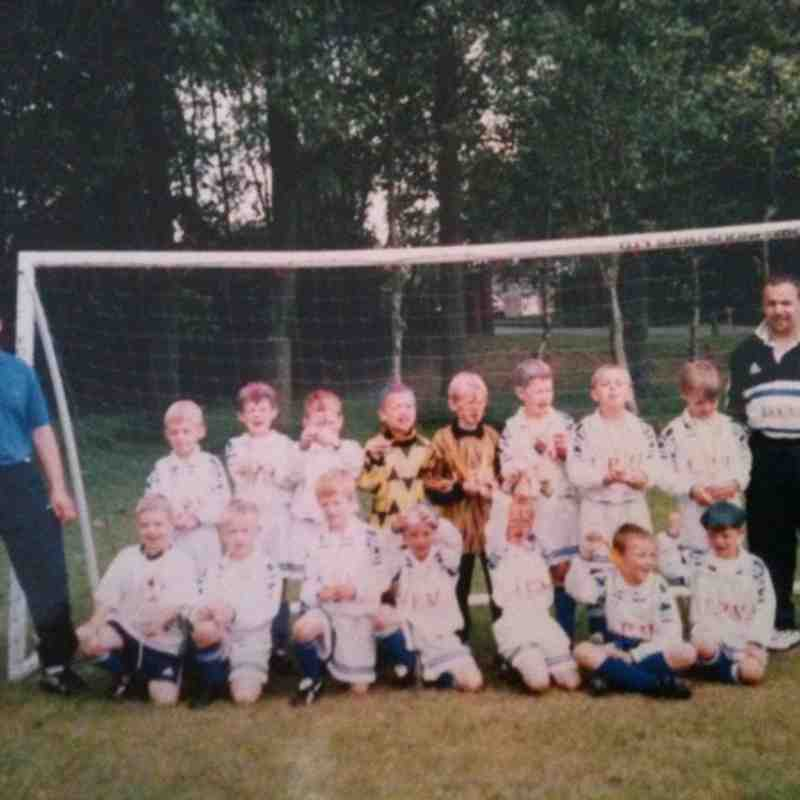 EASTLEIGH U7S  AT THE WOOLSTON TOURNAMENT