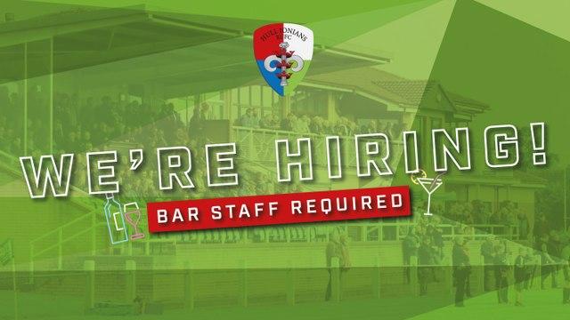 Bar Staff Required