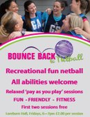 Please share the news - Bounce Back to Netball is BACK!!