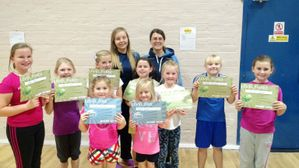 Awards for Dumfries Netball Club Juniors
