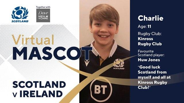 Local hero cheers on Scotland