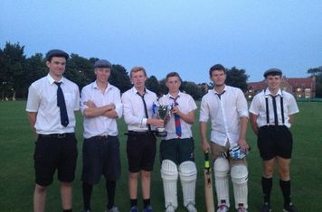 The winning team of the 2013 Nick Walker Cup