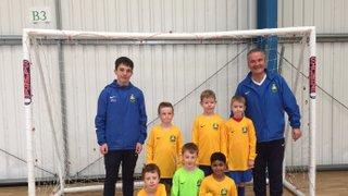 U8s Do Well at The Futsal