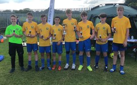 Bardwell U14 Win Easington 2018 Tournament