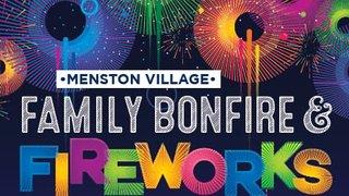 Menston bonfire and fireworks Display