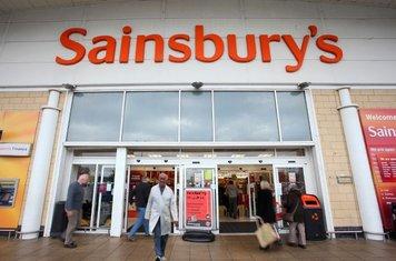 Sainsbury advertise their elite clientele