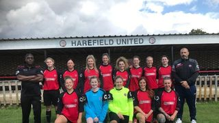 HAREFIELD UTD LADIES 5-2 WARGRAVE LADIES FC