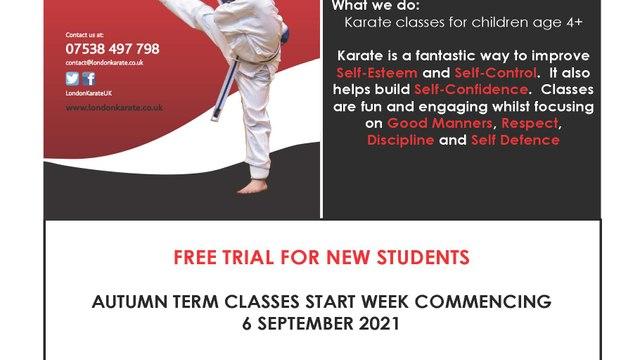 Karate at Wasps FC
