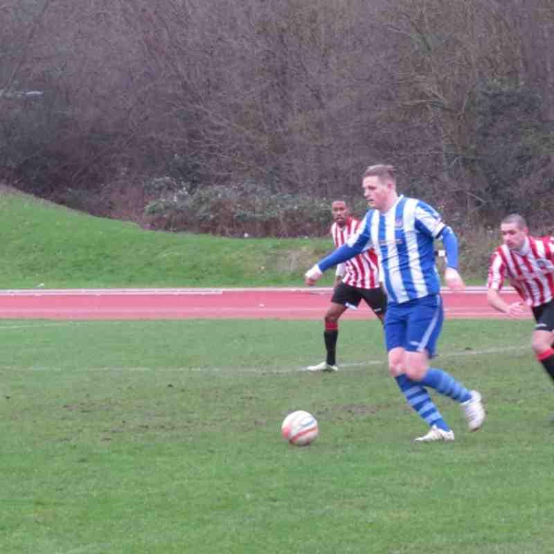 Guildford V AFC Hayes Jan 2013