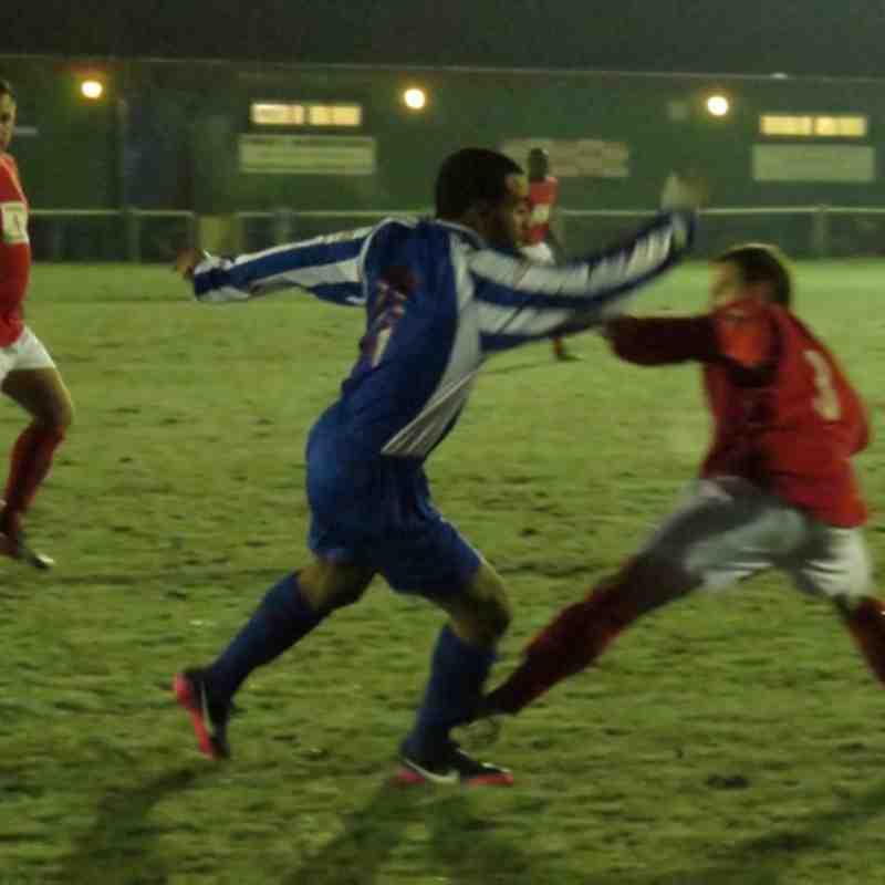 AFC Hayes v Uxbridge Jan 2013