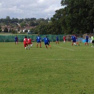 Raynes Park Vale FC 0-1 Wembley FC