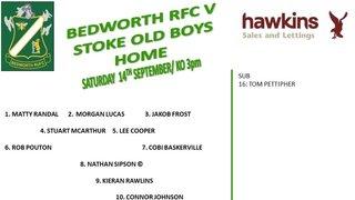 Bedworth RFC vs Stoke Old boys