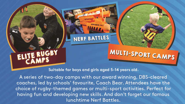 Details of Summer Camps Revealed - Book Now