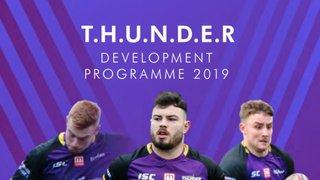 Thunder Development Programme Rebranded for 2019