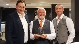 Club President Inducted into Hall of Fame