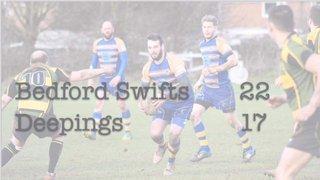 Swifts 22 - 17 Deepings