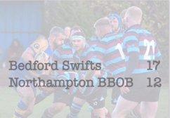 Swifts 17 -12 Northampton BBOBs