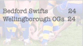 Swifts 24 - 24 Wellingboro OGs