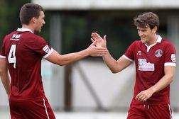 Clarets Score Five in Heybridge Win