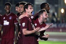 Clarets Defeat 10-Man Ebbsfleet to Make it Four Wins in a Row