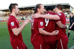 Clarets Ease To Semi Finals With Braintree Victory