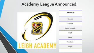 Academy League notification