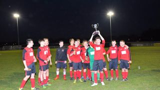 ECFC U18's Cup Final Win - May 5th 2016