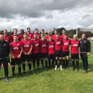 Opening Day win for Linby First team