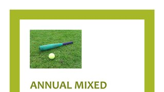 Annual Mixed Rounders Tournament