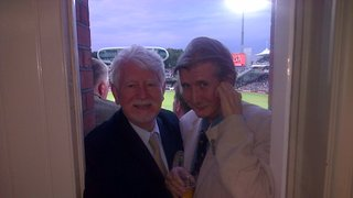 Two old boys at Lords