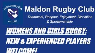 Women & Girls Rugby at Maldon RFC