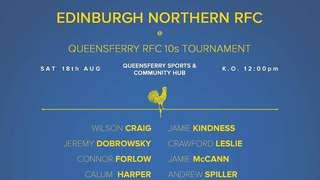 Queensferry 10's Squad Announcement