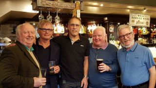 Class of 65 meet for a beer