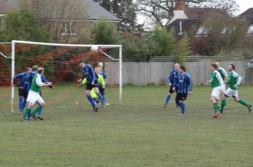 Adam Murphy Clears from a corner in the last minute.